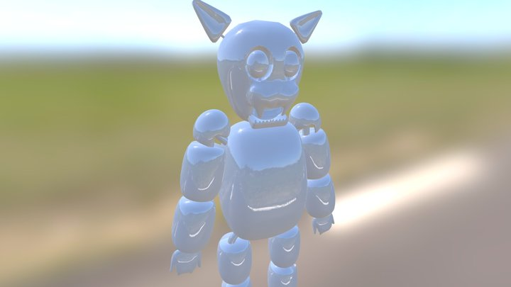 Luiz WIP 3D Model