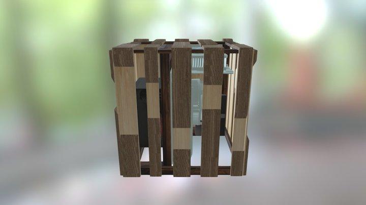Obudowa Mini ITX 3D Model