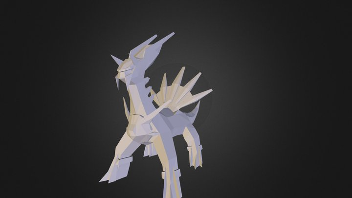Dialga for Pixelmon by Gilbert12888 3D Model