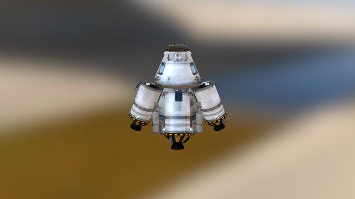 Super-Heavy Lander 3D Model