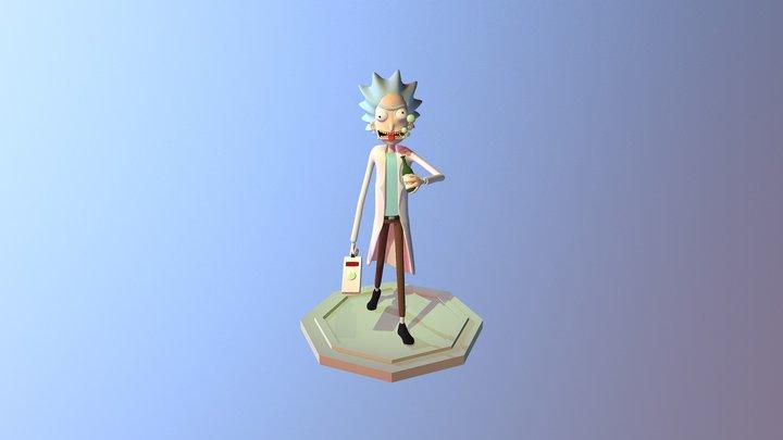 Rick Sanchez 3D Model