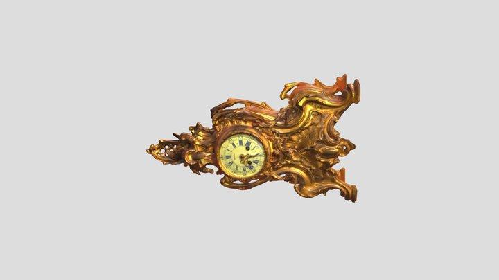 Antigue Clock 3D Model