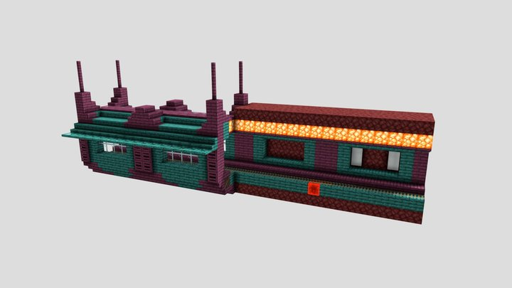 Nether Tunnel 3D Model