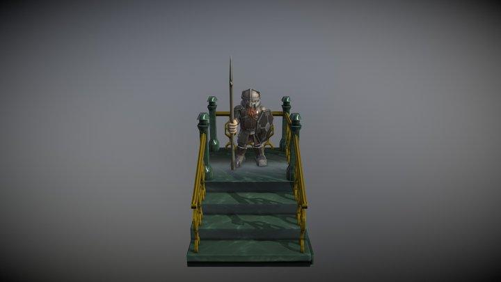 Guardian of Erebor 3D Model