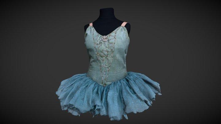 Ballet costume, tutu 3D Model