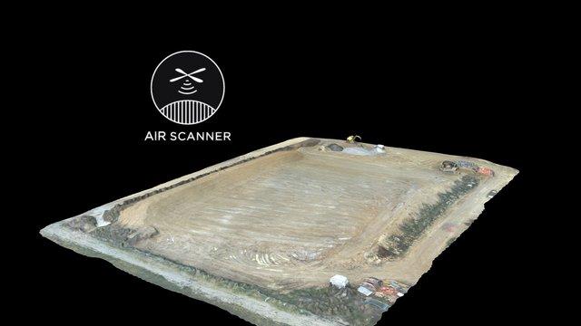 Relevé Topographique COLAS 3D Model