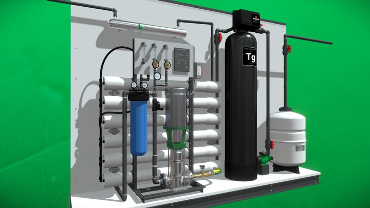 Water Treatment - totalgrowcontrol.com 10800 gal 3D Model