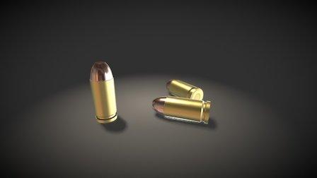 Bullet Set-Up Test 3D Model