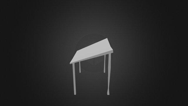 Hay Shed 3D Model