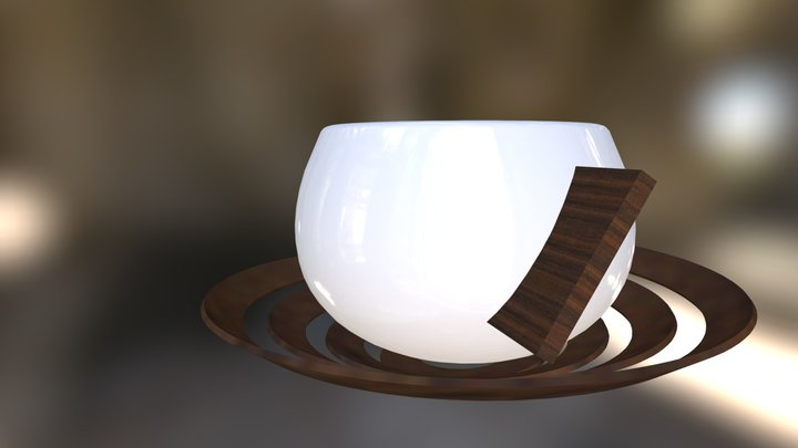 Expresso Cup 3D Model