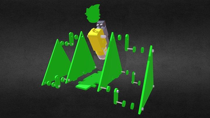 Frogie Yapım Modeli 3D Model