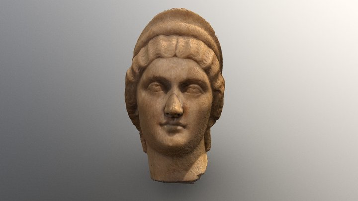 Faustina the Younger 3D Model