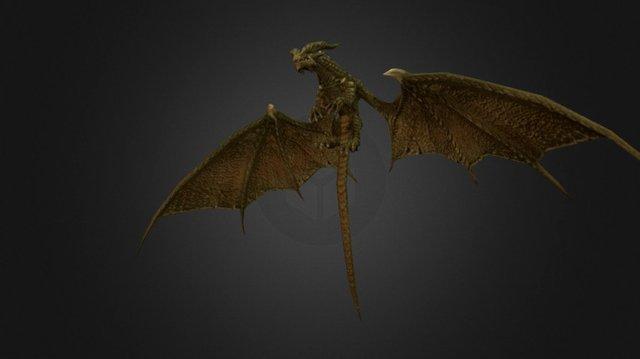 Dragon01@jump 3D Model