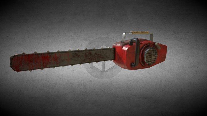 Evil Dead Chainsaw 3D Model