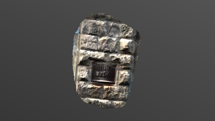James Watts first cast iron cylinder 3D Model