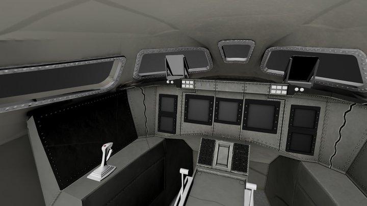 Dream Chaser Interior 3D Model