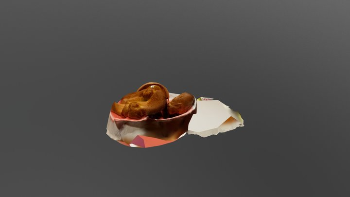 Yorkshire Puddings 3D Model