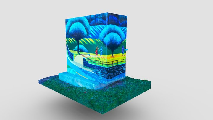 A Walk in The Park 3D Model