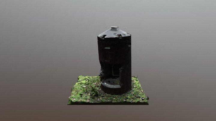 Einmannbunker 3D Model
