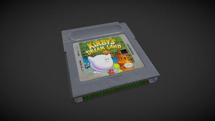 Gameboy Cartridge 3D Model
