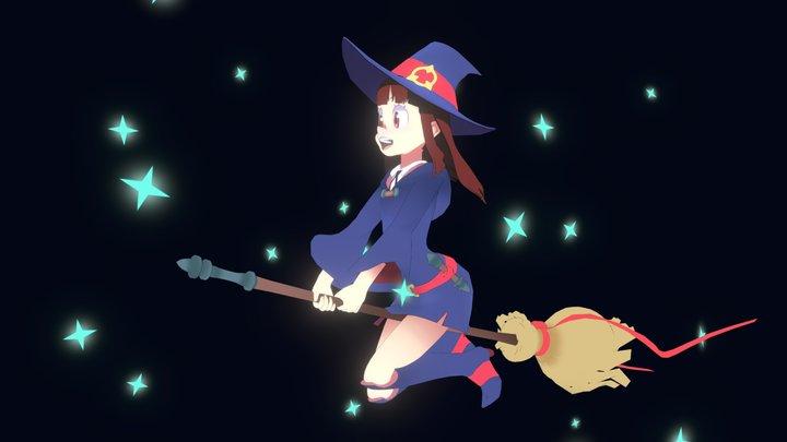 Little Witch Academia: Akko 3D Model