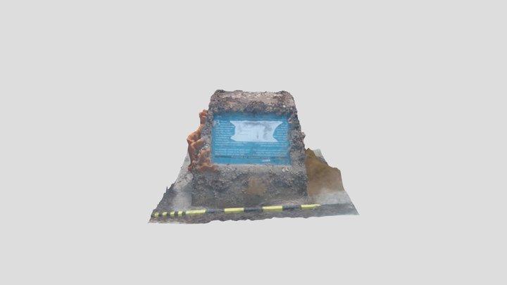 Port Noarlunga Sign 3 3D Model
