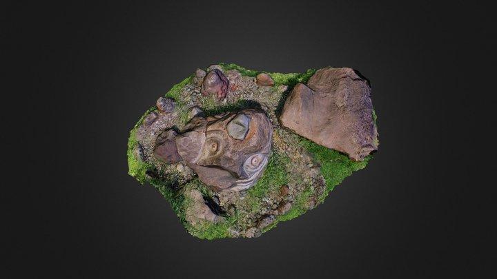 Escultura Hitu Merahi 3D Model
