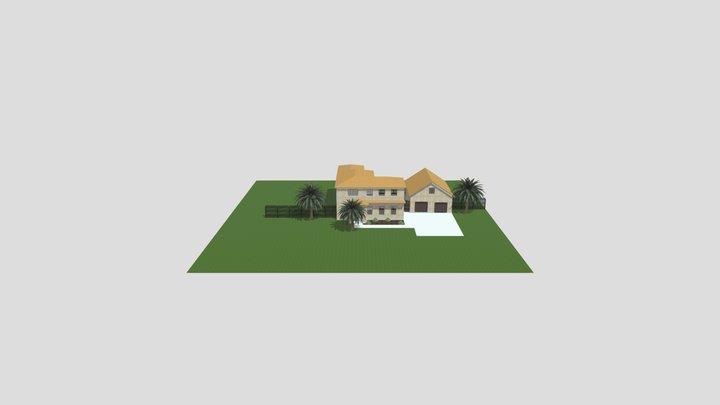 3D Model - Tuscan House 3D Model