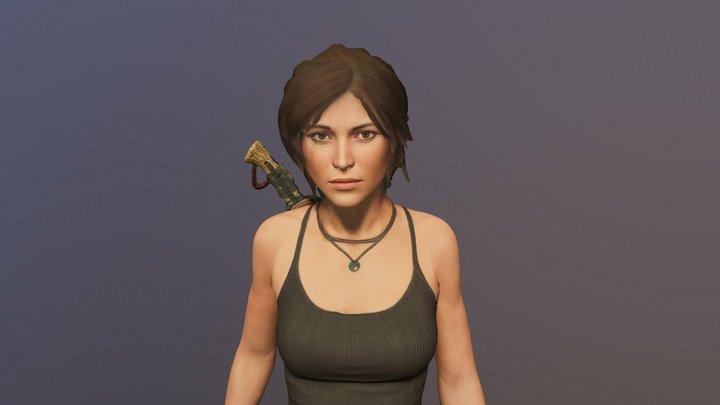 Lara 3D Model