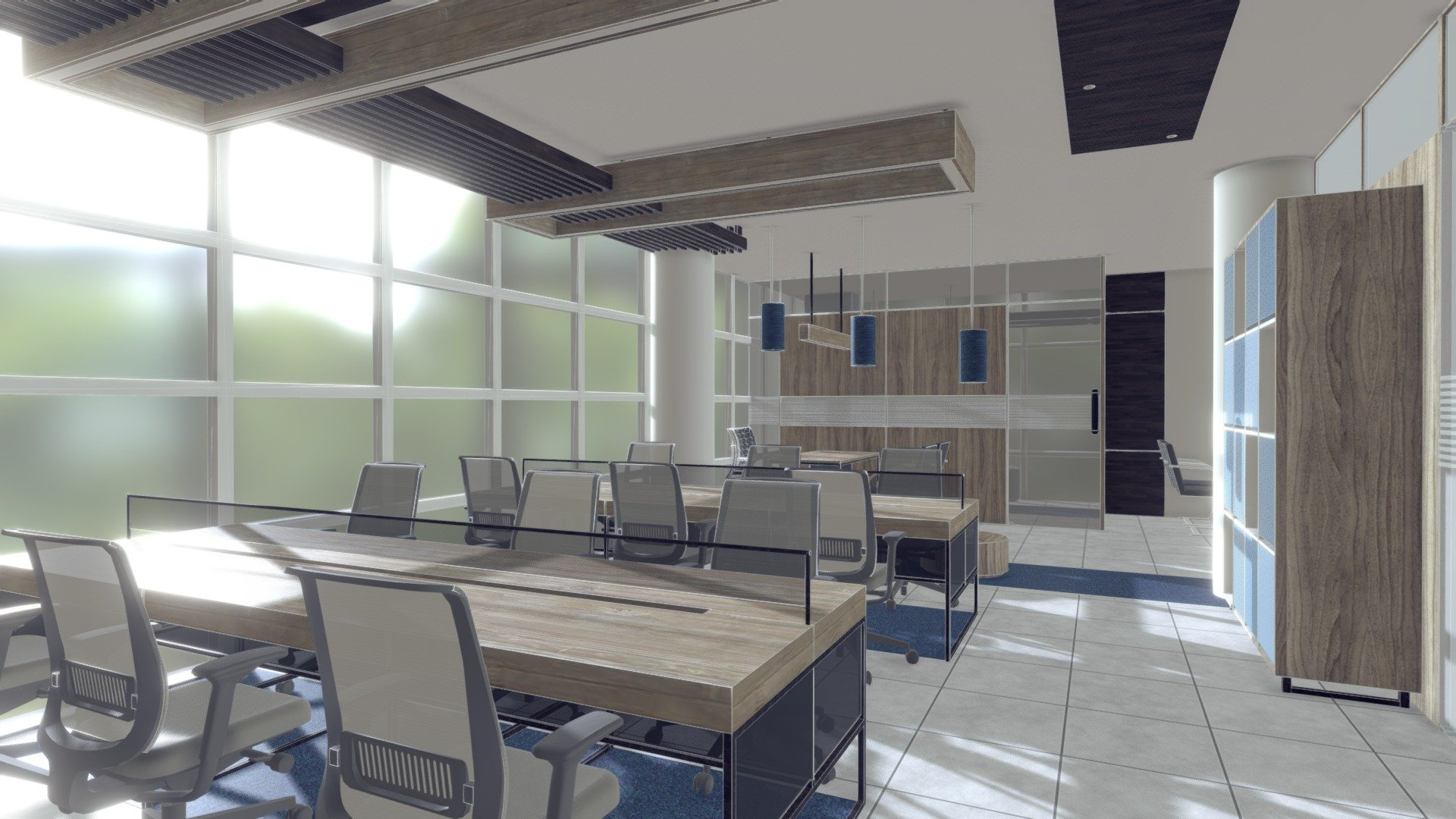 Cars For Free >> Office Interior - Download Free 3D model by MD Ashfaq Bin Arif (@tafar165) [a95a81f] - Sketchfab
