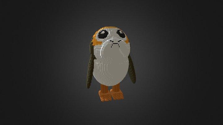 Porg Star Wars Model 3D Model