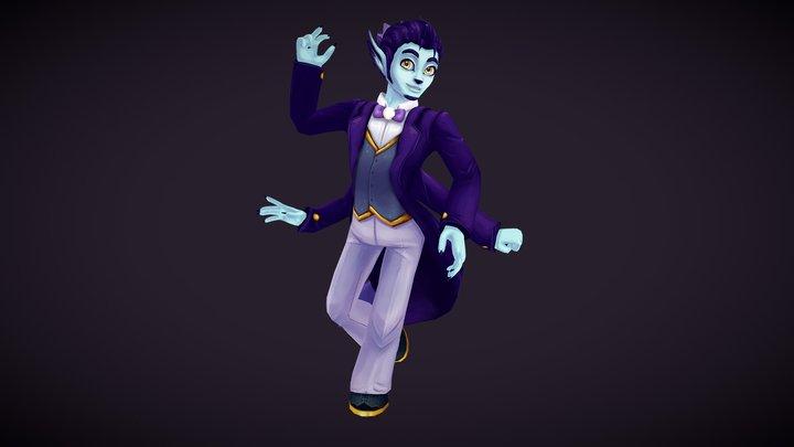 The Universe Man 3D Model