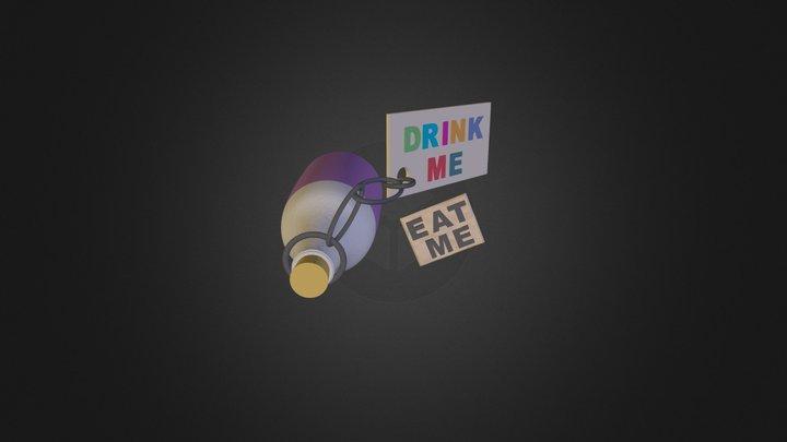 Drink Me Eat Me 3D Model