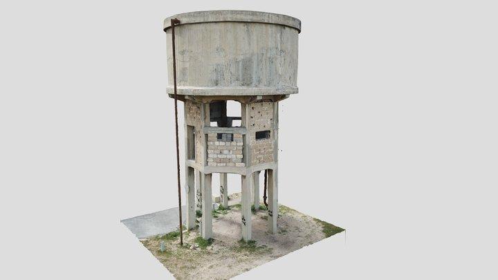 Moledet - Water Tower 3D Model