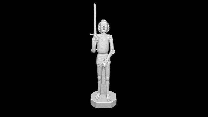 Brandenburger Roland 3D scanned 3D Model