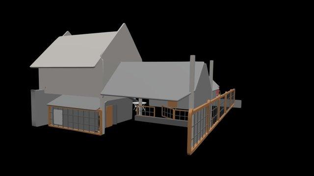 NE House ADU v2 3D Model