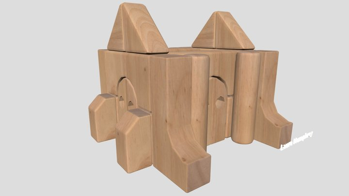 Wk 3 Unit Block Part 3 Humphrey Laura 3D Model