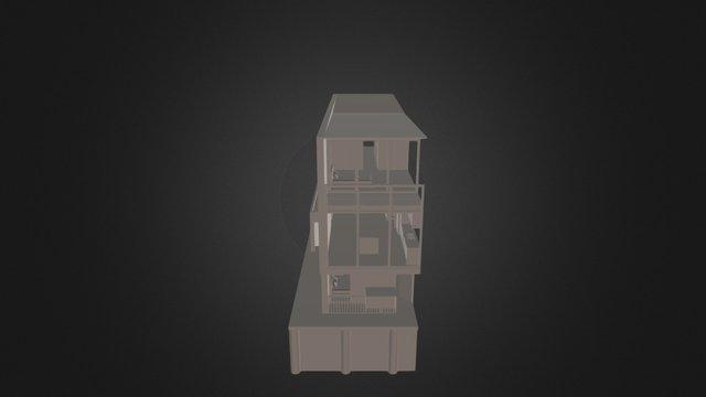 M153B - Apartment Whole 3D Model