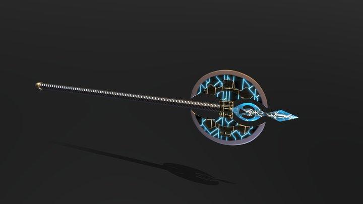 Sketchfab Axe Texturing Challenge 3D Model