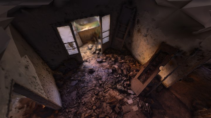 Abandoned interior 3D Model