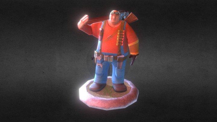 """After Detonation Zombie Story"" - Engineer 3D Model"