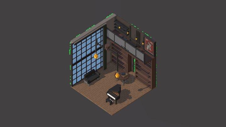 Room 05 / MagicaVoxel 3D Model