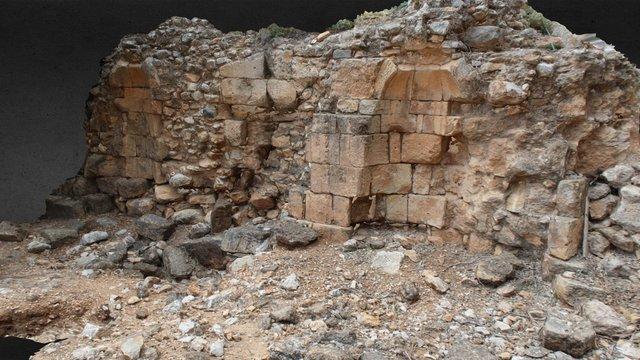 Temple Of Augustus Ruins 3D Model