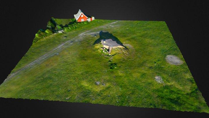 Bunker 1516 3D Model