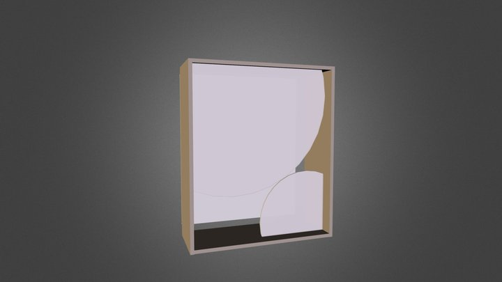 Shadow_Box2_Explode.3ds 3D Model