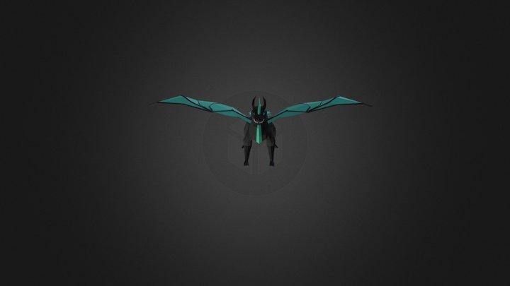 LP Dragon 3D Model