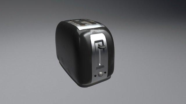 Toaster #2 3D Model