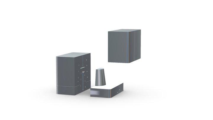 Conformal Cooling (Mold Insert Open Design) 3D Model