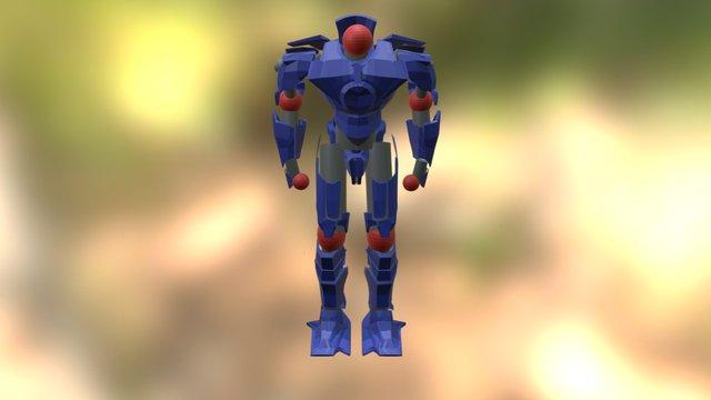 Gipsy Danger plastico 3D Model