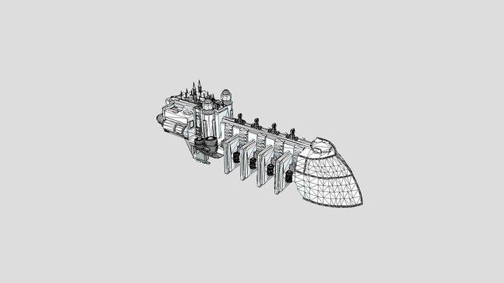 Imperial Transport 3D Model